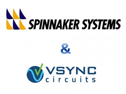 Nov. 9, 2011: vSync Circuits and Spinnaker Systems announce partnership